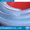 Tuyau souple de résistance à la fibre de PVC pour l'huile d'eau de transport
