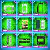 Superposición de gráfico de LED Kepad lentes/Panel de la membrana