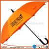 販売のために工場オレンジゴルフ傘を直接公表しなさい