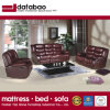 Best Selling Mobiliário de estar sofá de couro genuíno (FB5126)