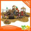 就学前の子供の屋外の練習装置の遊園地のスライド