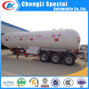 Eixo Asme do reboque 56000L BPW 3 do tanque do LPG que cozinha o reboque do LPG do tanque de gás