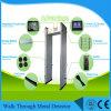33/36 promenade de zones par le détecteur de métaux, détecteur de métaux du passage arqué IP55 avec la sensibilité 999
