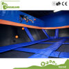 TUVの公認の大人の販売のための安全な屋内極度なトランポリン公園