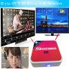 가장 싼 IPTV 2.4G 5.8g Amlogic S912X 인조 인간 텔레비젼 상자