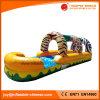 Надувные джунглей тема горкой N пробуксовки колес с бассейном (T11-020)