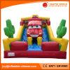 Juguete inflable/ saltando de tema Diapositiva de coche en seco para el Parque de Atracciones (T4-210C)