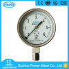 100mm Full Stainless Steel Bottom Type 6kpa Cápsula Pressure Gauge