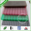 Strati ondulati della cavità del policarbonato del materiale da costruzione del PC di plastica favorevole all'ambiente del tetto