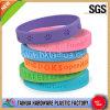 Wristband del silicone di Debossed di promozione (TH-6152)