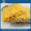 Ancrage d'entraînement de marteau en plastique jaune