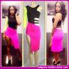 Оптовый цвет сексуальное Dress/Fashion раздваивает платье ночных клубов