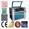 Máquina de estaca do laser do CO2 para o acrílico plástico do couro das calças de brim da tela (PEDK-6040)