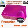 HD Proyector avec la résolution, appui DVD, HDMI, TV (D9HB)