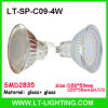 SMD2835 4W Glass LED Cup (LT-SP-C09-4W)