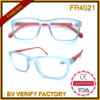 Fr4021 Classic Diseñado Matt transparente de plástico Marcos de gafas de lectura a granel Comprar de China