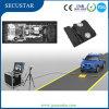Mobile sotto lo scanner di controllo del veicolo per obbligazione di parcheggio