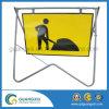 Portátil de alta qualidade e dobragem de quadros de placa de sinal de tráfego para estrada