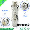 Stainless Steel Uses Dry Batteries (Maraxus 2)의 7 Part Rebuildable와 Replaceable Ecig Battery Mods Made