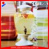 Beverage di vetro Dispenser con Ceramic Lid e Stand