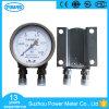 calibre de pressão diferencial do aço inoxidável 0.25MPa de 100mm