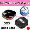Traqueur imperméable à l'eau du Portable GPS de bande de quarte