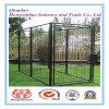 Pó preto em pó ou PVC Revestimento Outdoor Dog Cage