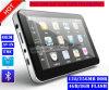 5.0 populares Carro elevador com navegação GPS Marinhos de Wince 6.0 Dual CPU de 800 MHz, o transmissor FM, entrada AV-in para o estacionamento do sistema do Navegador GPS da câmara, dispositivo de rastreamento de TMC