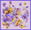 Sciarpa del quadrato di disegno floreale