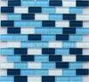 Hot Sale cristal bleu Mosaïque de briques de verre
