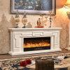 Chimenea eléctrica del hotel de los muebles TV del calentador moderno del soporte con el Ce (342S)