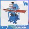 Máquina hidráulica de la prensa del calor para la camiseta