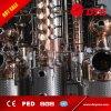 destilería de cobre 500L que hace el equipo para el whisky