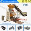 Maquinaria concreta hidráulica Semi automática do tijolo