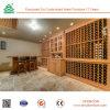 Cremagliera di legno del vino di prezzi di fabbrica, cantina per vini di legno,