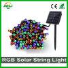 Piscina Holiday Iluminação SMD RGB2835 100 LEDs Solar LED luz de String