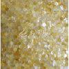 Gelbe Mosaik-Fliese des Lippenmopp-Shell-23mm Hexagan