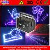 クリスマスまたは党のためのディスコRGBのアニメーションの段階のレーザー光線