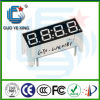 Indicador de diodo emissor de luz duplo do segmento da cor 7 do dígito do costume 4 (GYXS-0042)