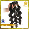 6A-grado 100% peruana humano de la Virgen de la onda Pelo Suelto Xuchang Fabricante extensión del pelo