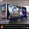 Amusement Park Chariot Mobile Mini 5D avec une cabine de cinéma 7D, 5D de Cinéma Le cinéma en coin exploités à des jeux
