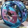 多彩な車輪の鋼鉄縁のトレーラーは縁のトラックの鋼鉄車輪を動かす