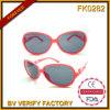 Lunettes de soleil du gosse Fk0282 avec le bâti bon marché de Hotsale de lentille claire