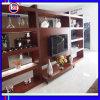 Gabinete de TV de madeira clássico com Showcase (ZH035)