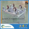 산업 창고 선반을%s 접을 수 있는 철강선 메시 콘테이너