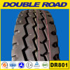 Neumáticos dobles del perfil inferior de los tubos interiores 1000r20 1100r20 del neumático del alimentador de camino para los carros no usados