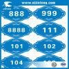 Значок ПВХ дешевые популярных автомобилей тела мотоциклов табличку на наклейке