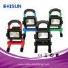 5W/10W/20W/30W/40W/50W 재충전 전지 USB 충전기를 가진 비상사태 일 LED 옥외 플러드 빛