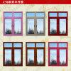 프랑스 작풍 두 배 창유리 알루미늄 여닫이 창 Windows