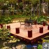 차고 정원 테라스를 위한 설계된 마루